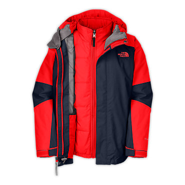 photo: The North Face Traece Triclimate Jacket component (3-in-1) jacket