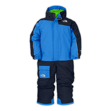 photo: The North Face Insulated One Shot Suit kids' snowsuit/bunting
