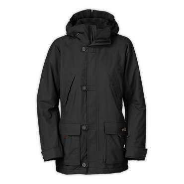 photo: The North Face Honee Snugs Delux Parka snowsport jacket