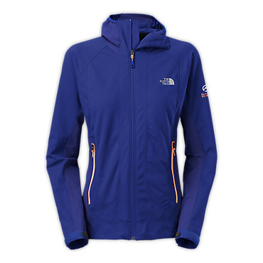 photo: The North Face Alpine Project Hybrid Hoodie soft shell jacket