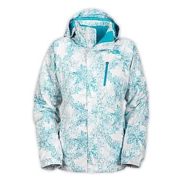 photo: The North Face Snow Cougar Print Jacket snowsport jacket