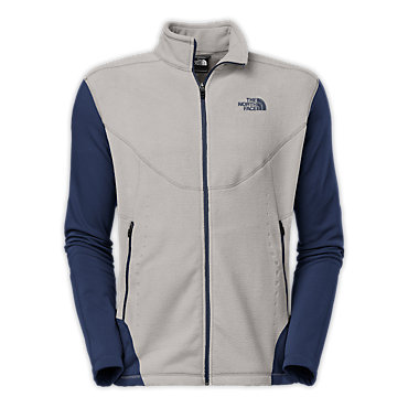photo: The North Face Jacquard Split Full Zip fleece jacket