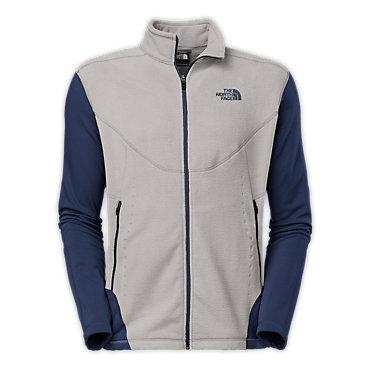 photo: The North Face Men's Jacquard Split Full Zip fleece jacket