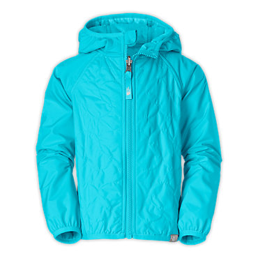 photo: The North Face Girls' Reversible Lil'Breeze Wind Jacket