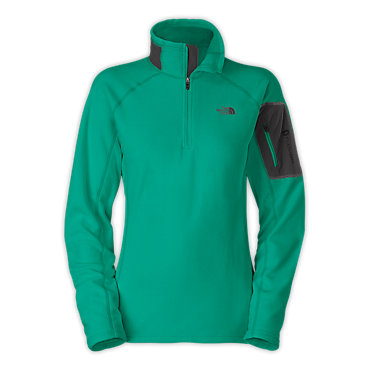 photo: The North Face Women's RDT 100Wt 1/2 Zip fleece top