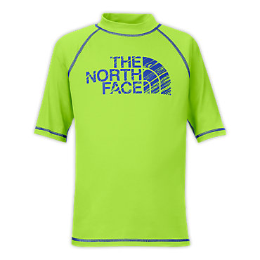 photo: The North Face Boys' 3/4 Sleeve Offshore Rash Guard