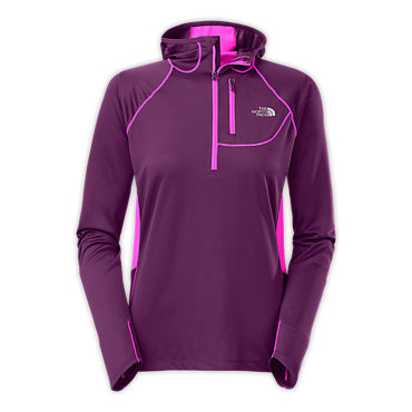 photo: The North Face Impulse Active 1/2 Zip Hoodie long sleeve performance top