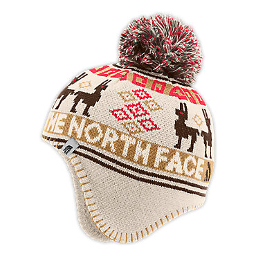 photo: The North Face Baby Llama Beanie winter hat