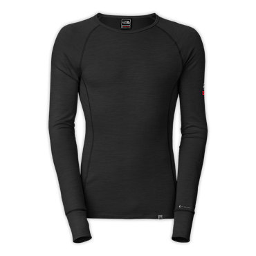 photo: The North Face Men's Warm Merino Crew base layer top