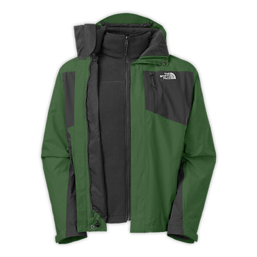 photo: The North Face Tiberius Triclimate component (3-in-1) jacket