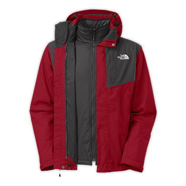 photo: The North Face Grey Peak Triclimate component (3-in-1) jacket