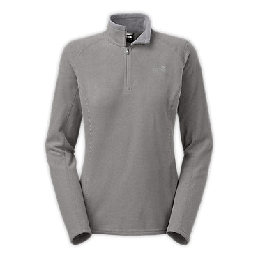 photo: The North Face Striped TKA Glacier 1/4 Zip fleece top