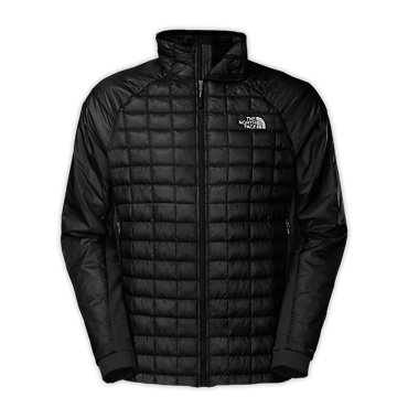 photo: The North Face Men's Thermoball Hybrid Jacket synthetic insulated jacket