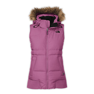 photo: The North Face Hot To Trot Down Delux Vest down insulated vest