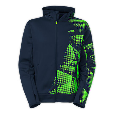 photo: The North Face Surgent Full Zip Printed Hoodie