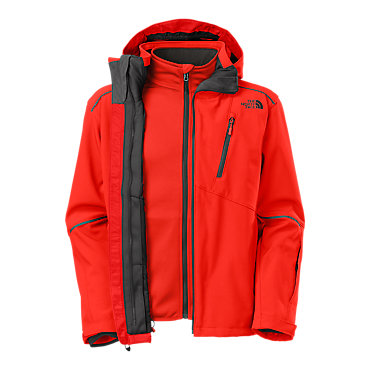 photo: The North Face Storm Peak Triclimate Jacket component (3-in-1) jacket