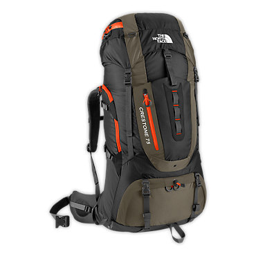 photo: The North Face Crestone 75 expedition pack (4,500+ cu in)