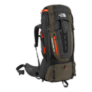 photo: The North Face Men's Crestone 60 weekend pack (3,000 - 4,499 cu in)