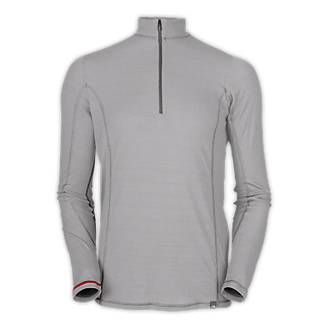photo: The North Face Men's Light L/S Zip Neck base layer top
