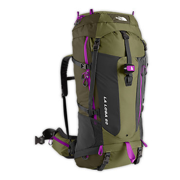 photo: The North Face Women's El Lobo 60 weekend pack (3,000 - 4,499 cu in)