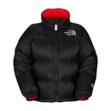 photo: The North Face Kids' Throwback Nuptse Jacket down insulated jacket