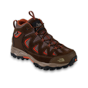 photo: The North Face Boys' Vindicator WP hiking boot