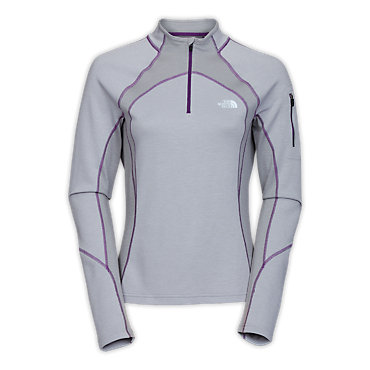 photo: The North Face Women's Aries 1/4 Zip long sleeve performance top
