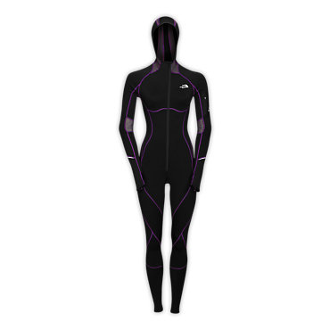 photo: The North Face Women's Ultra Onesie one-piece suit