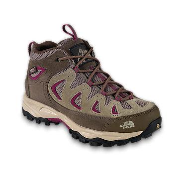 photo: The North Face Girls' Vindicator WP hiking boot