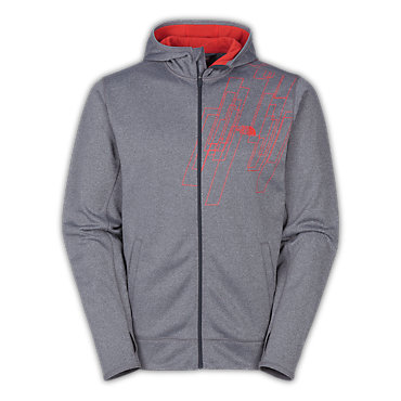 photo: The North Face Surgent Printed Full Zip Hoodie fleece jacket