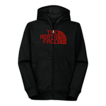 photo: The North Face Eight Bit Full Zip Hoodie