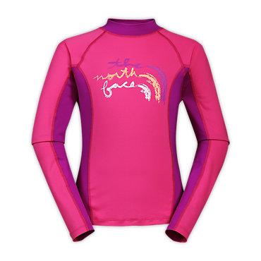 photo: The North Face Girls' Cutback Rash Guard L/S