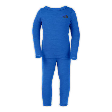 photo: The North Face Infant Baselayer Set one-piece base layer