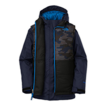 photo: The North Face Boys' Vestamatic Triclimate Jacket component (3-in-1) jacket