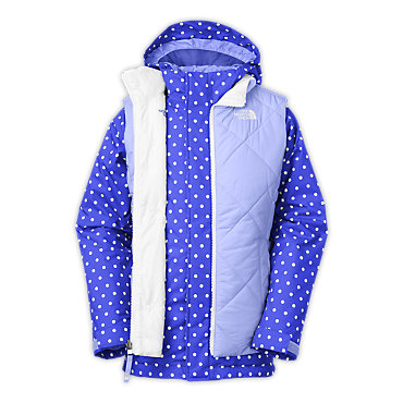 photo: The North Face Girls' Vestamatic Triclimate Jacket component (3-in-1) jacket