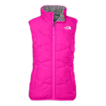 photo: The North Face Girls' Reversible Moondoggy Vest