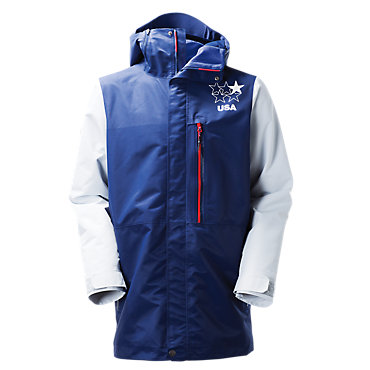 photo: The North Face Slopestyle Competition Insulated Jacket snowsport jacket
