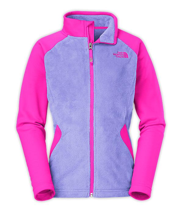 north face fleece jacket kids -