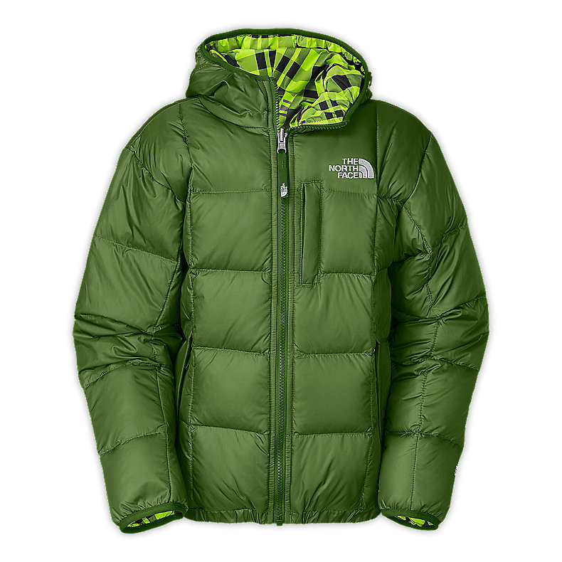 BOYS' REVERSIBLE DOWN MOONDOGGY JACKET