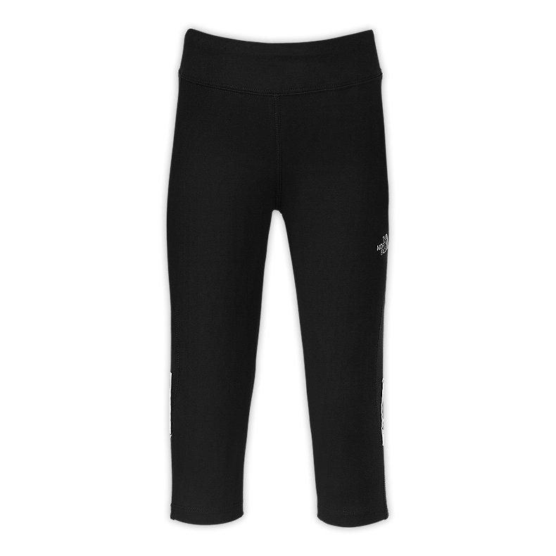 GIRLS' 3/4 RUNNING TIGHTS