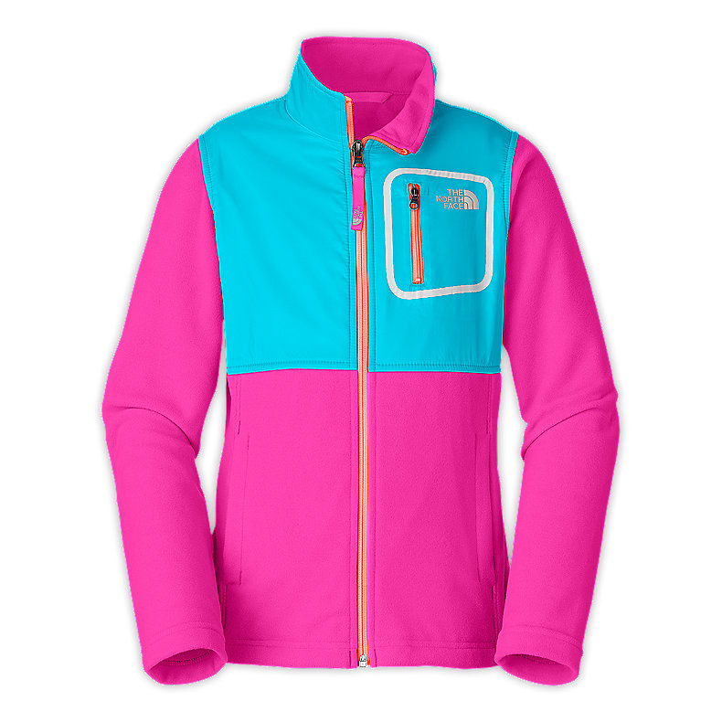 GIRLS' LIGHTWEIGHT GLACIER TRACK JACKET
