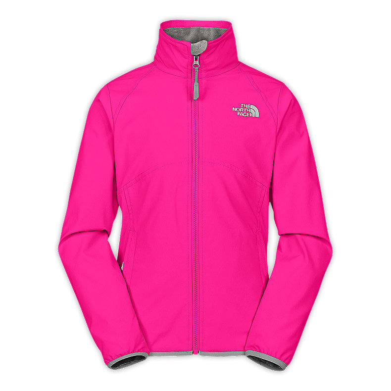 GIRLS' MOSSBUD SOFT SHELL JACKET