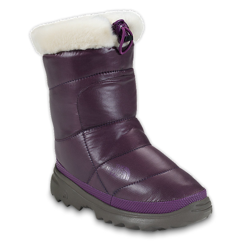 GIRLS' NUPTSE® BOOTIE II FUR