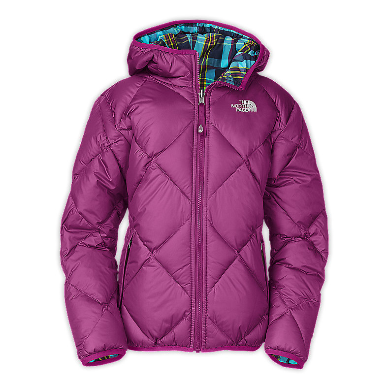 GIRLS' REVERSIBLE DOWN MOONDOGGY JACKET