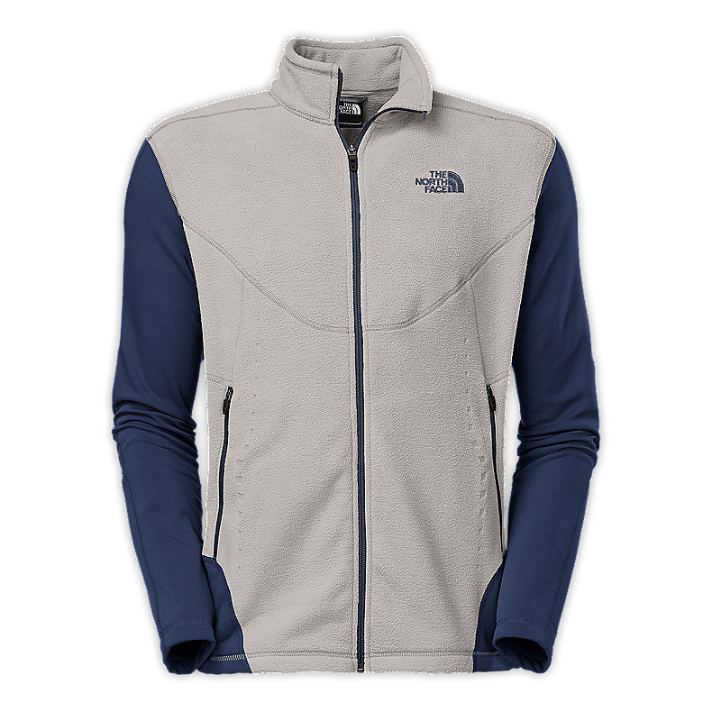 MEN'S JACQUARD SPLIT FULL ZIP