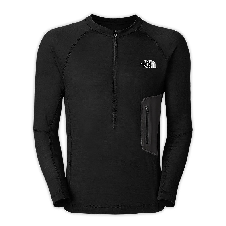 MEN'S LONG-SLEEVE LITHO 1/4 ZIP