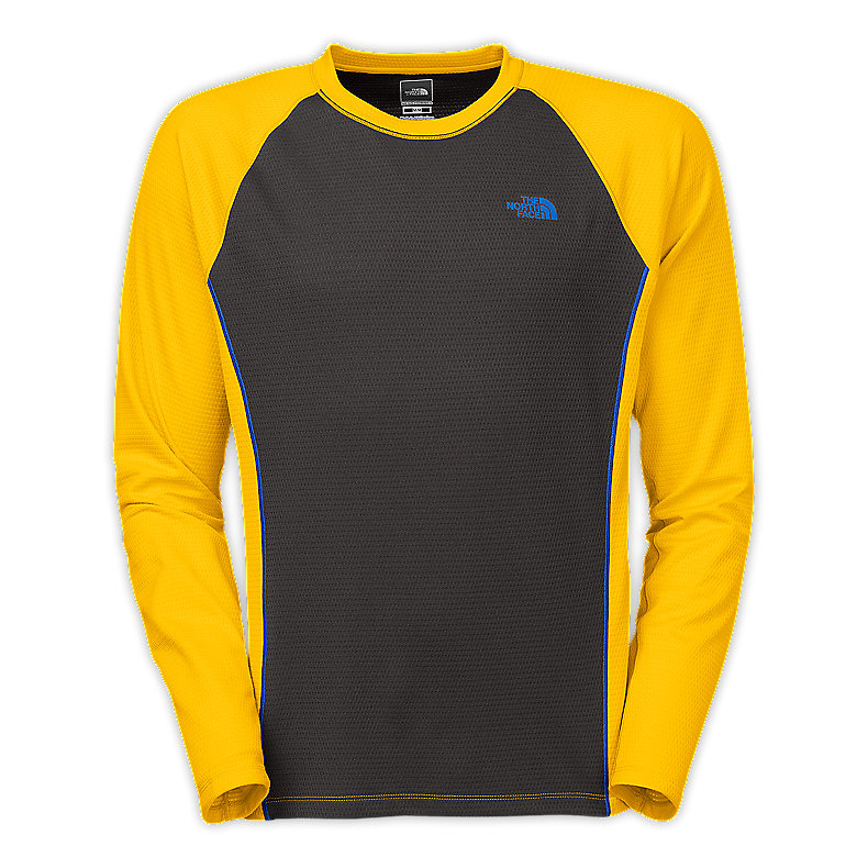 MEN'S SPLIT LONG-SLEEVE CREW