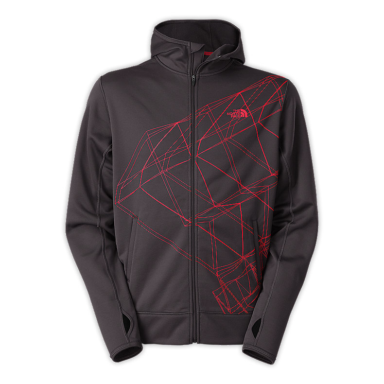 MEN'S SURGENT PRINTED FULL ZIP HOODIE