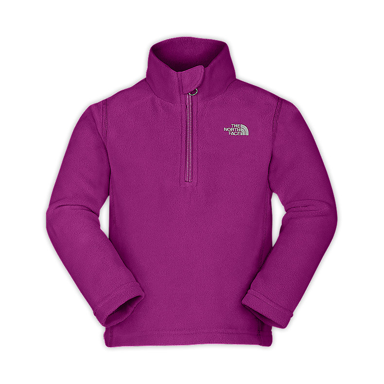TODDLER GIRL'S GLACIER 1/4 ZIP