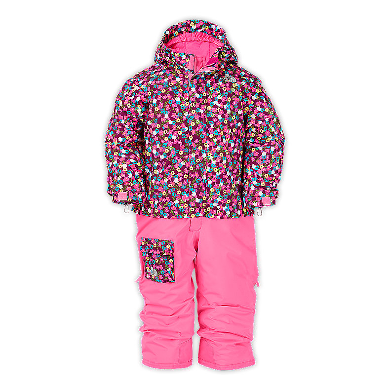 TODDLER GIRLS' INSULATED JUMP UP SUIT